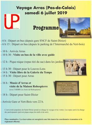 Programme arras web